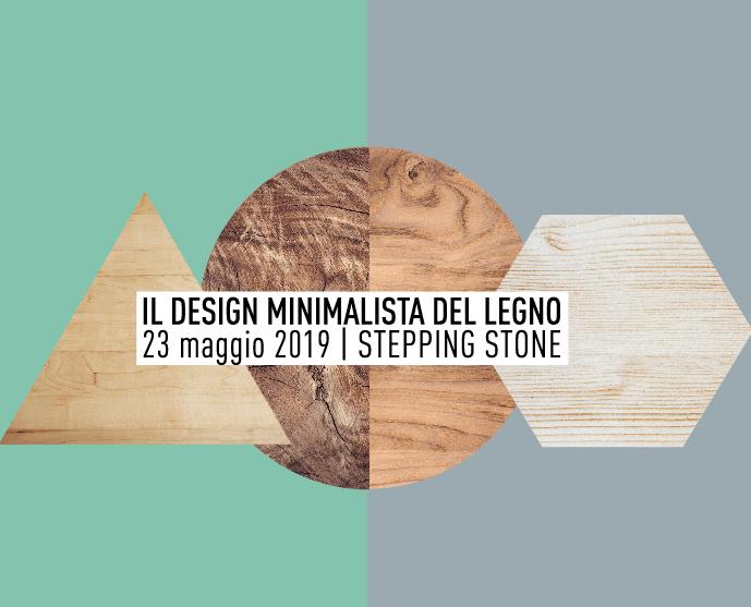 Il design minimalista del legno